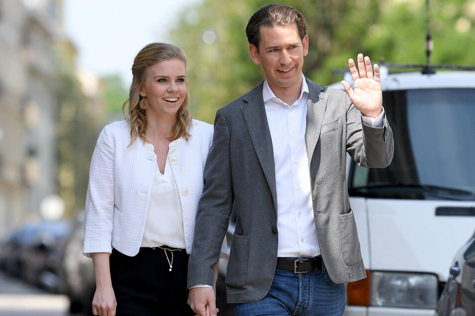 Sebastian Kurz, Bundeskanzler von Österreich, und seine Lebensgefährtin Susanne Thier, erwarten ein Kind.