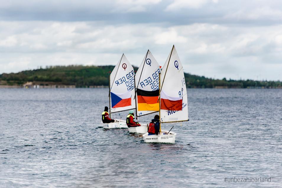 Die Segler am Berzdorfer See machen vor, wie Völkerverständigung funktioniert.