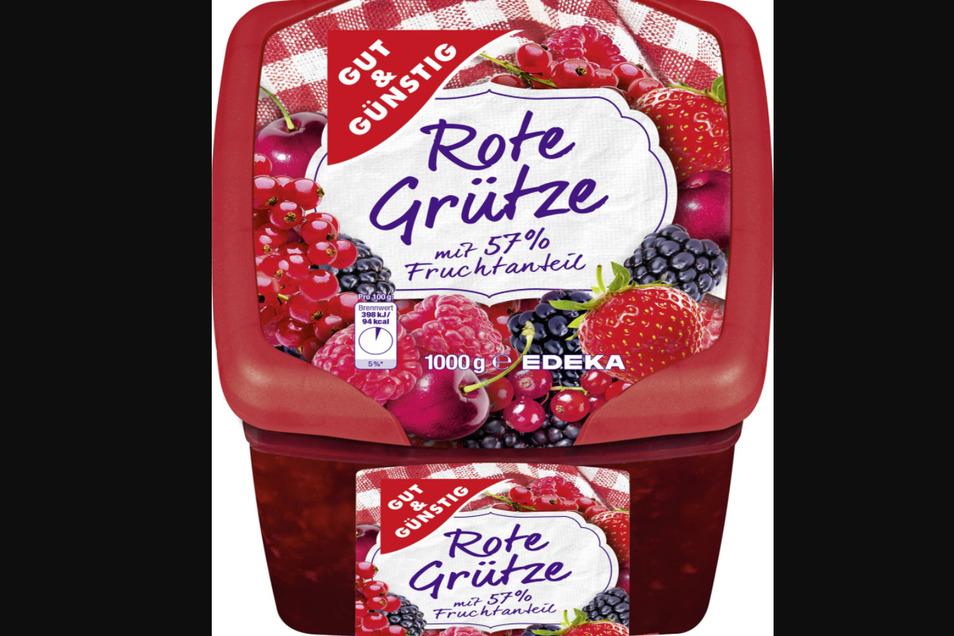 Die Firma Wernsing Feinkost ruft bestimmte Rote Grütze-Produkte zurück.