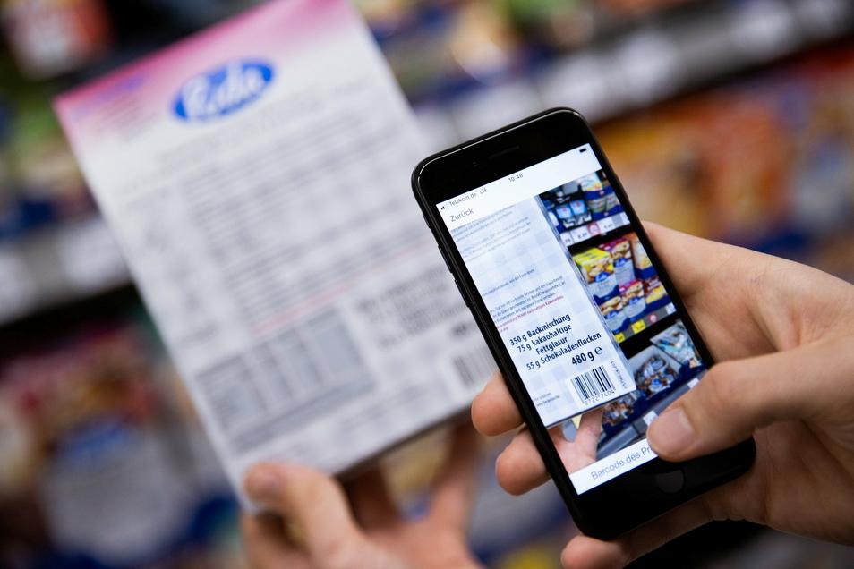 Mit der Scan&Go App können Nutzer ihre Waren bereits während des Einkaufens im Markt scannen und am Ende bargeldlos bezahlen. Das spart Zeit. Und der Kunde behält den Überblick.