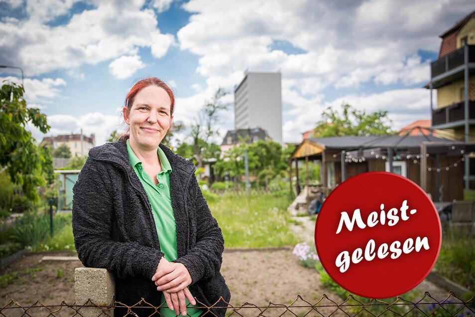 Viele Jahre hat Madlen Schmidt zusammen mit ihrer Mutter und Schwester den Kleingarten in Dobritz bewirtschaftet. Jetzt ist die Luft raus.