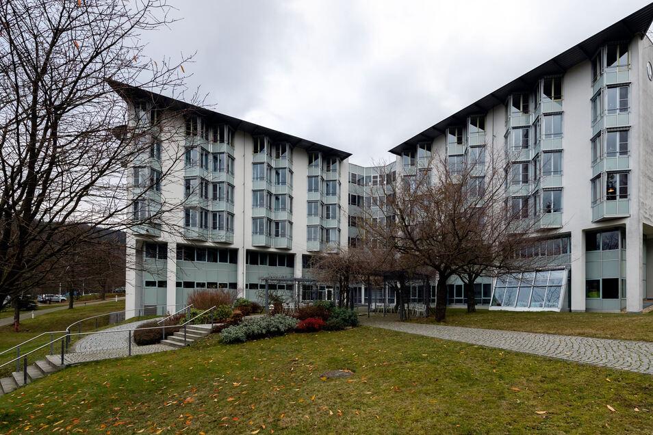 Sächsische-Schweiz-Klinik Sebnitz: Hier werden jetzt Corona-Patienten versorgt.