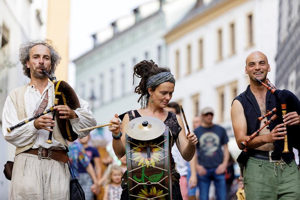 Das Altstadtfest in Görlitz fand zuletzt 2019 statt. 2020 fiel es erstmals wegen Corona aus, dieses Jahr erneut.