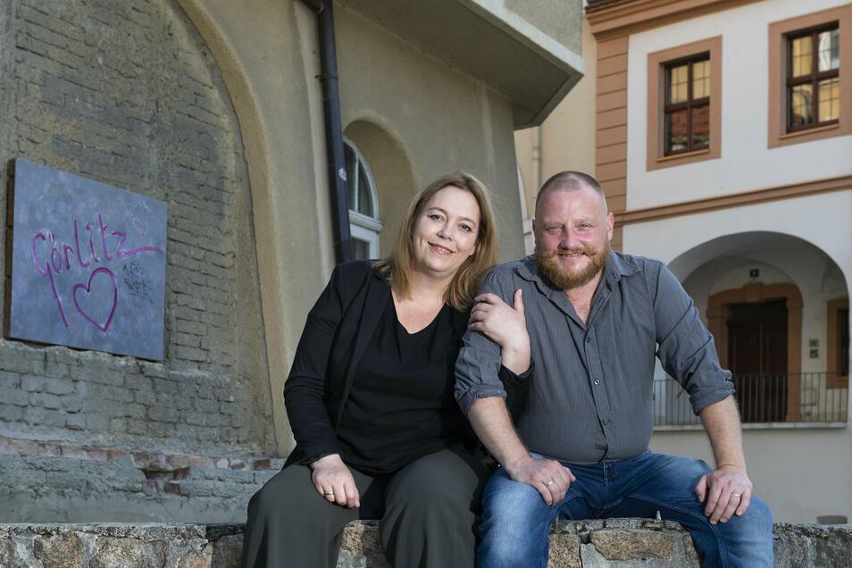 """Diana Klaus-Metzner und Alexander Klaus betreiben in Görlitz die Brauerei """"Bierblume"""" mit Lokal und haben noch viel mehr vor."""