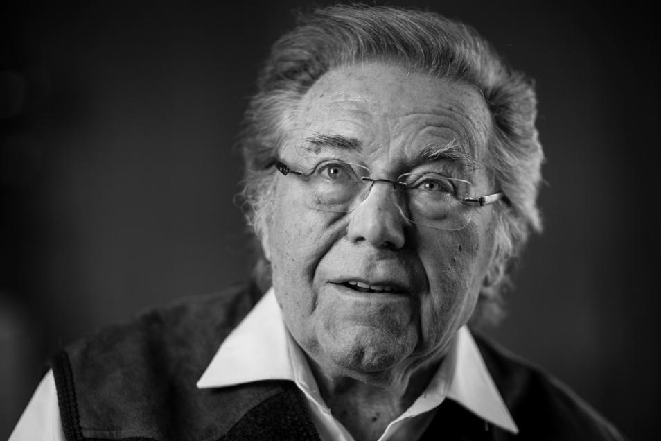 Peter Schreier im Jahr 2016.