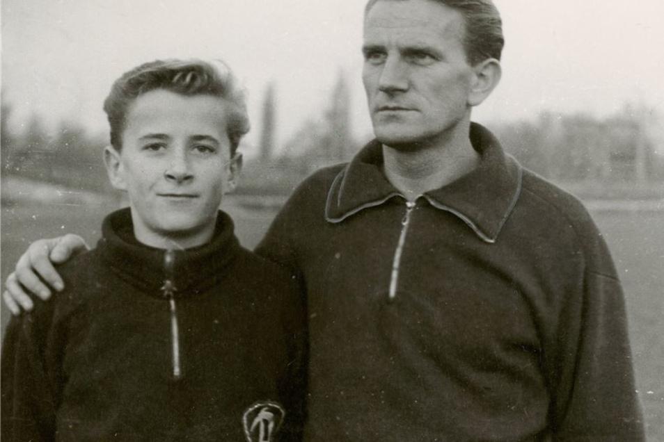 Der frühere DSC-Fußballer Hans Kreische ging nach der Zerschlagung des Vereins in den Westen, kehrte aber 1954 zurück, damit sein Sohn Hans-Jürgen in Dresden zur Schule gehen konnte. Beide spielten für Dynamo.
