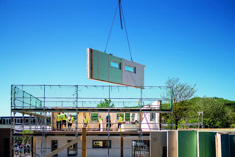 Das Ingenieurbüro Wagner & Paul ist Partner von Hanse-Haus, einem namhaften Anbieter für individuelle Fertigteilhäuser.