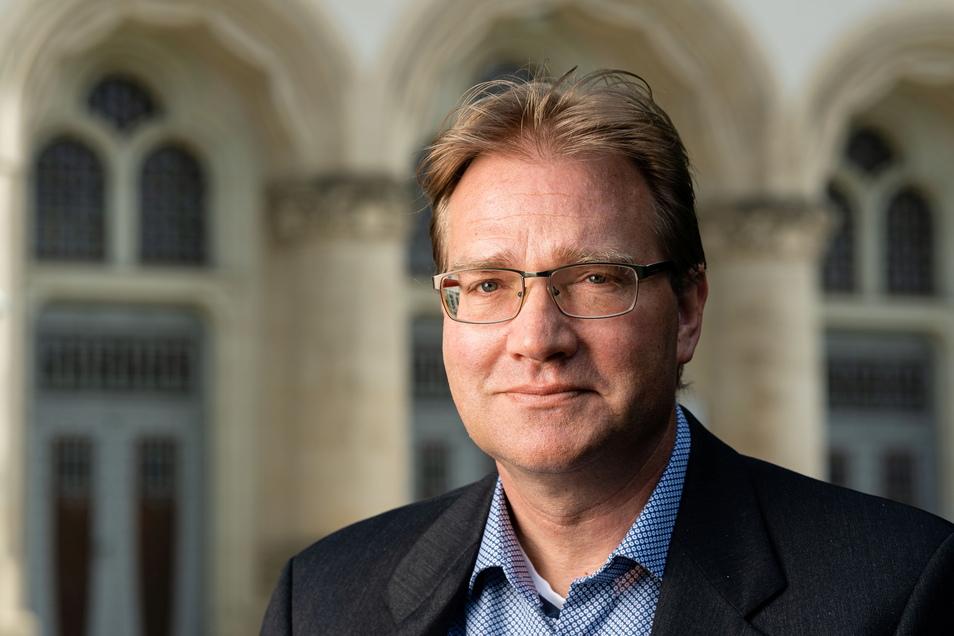 Christopher Gerhardi ist Staatsanwalt sowie Sprecher der Staatsanwaltschaft Görlitz.
