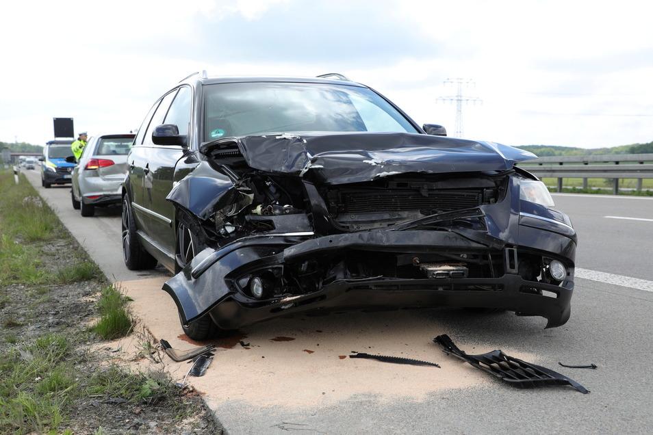 Bei dem Unfall wurde zum Glück niemand verletzt.