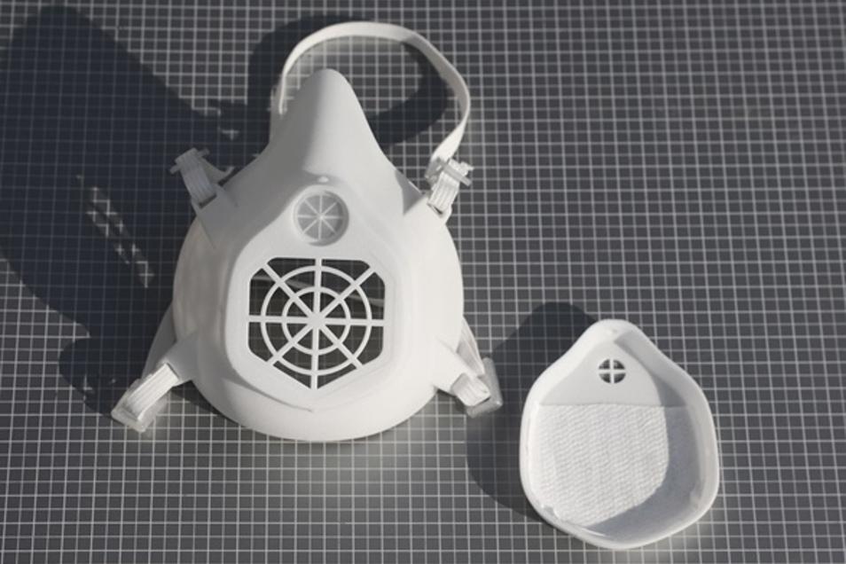 Die Schutzmasken von Fraunhofer sind wiederverwendbar.
