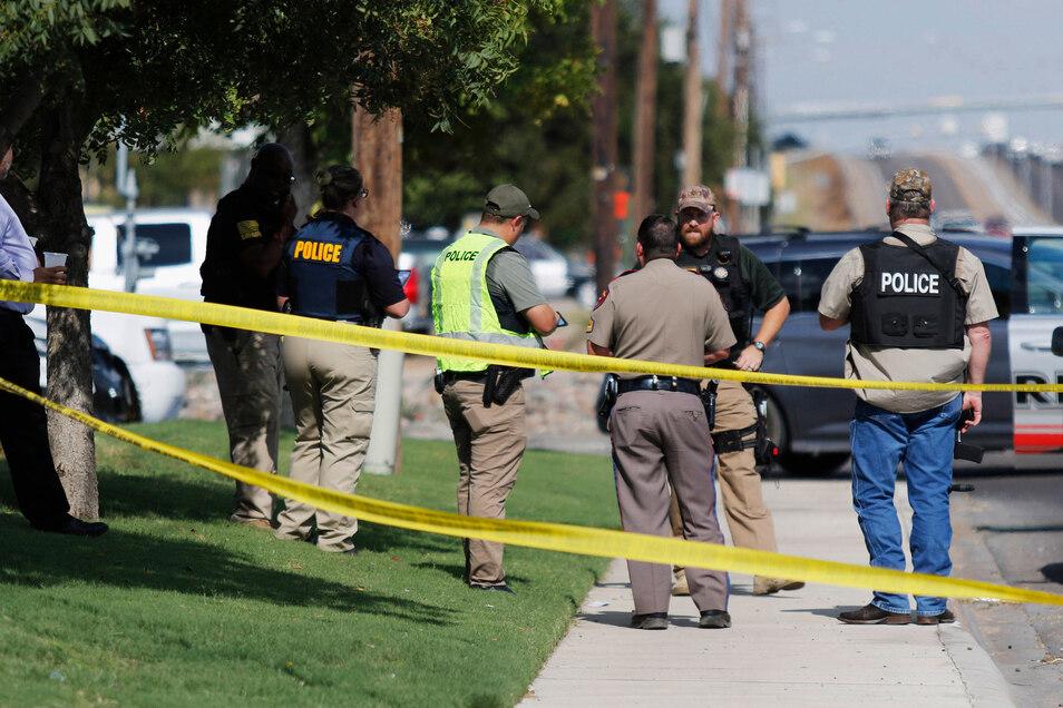 Durch Schüsse im US-Bundesstaat Texas sind mindestens fünf Menschen getötet und 21 weitere verletzt worden.