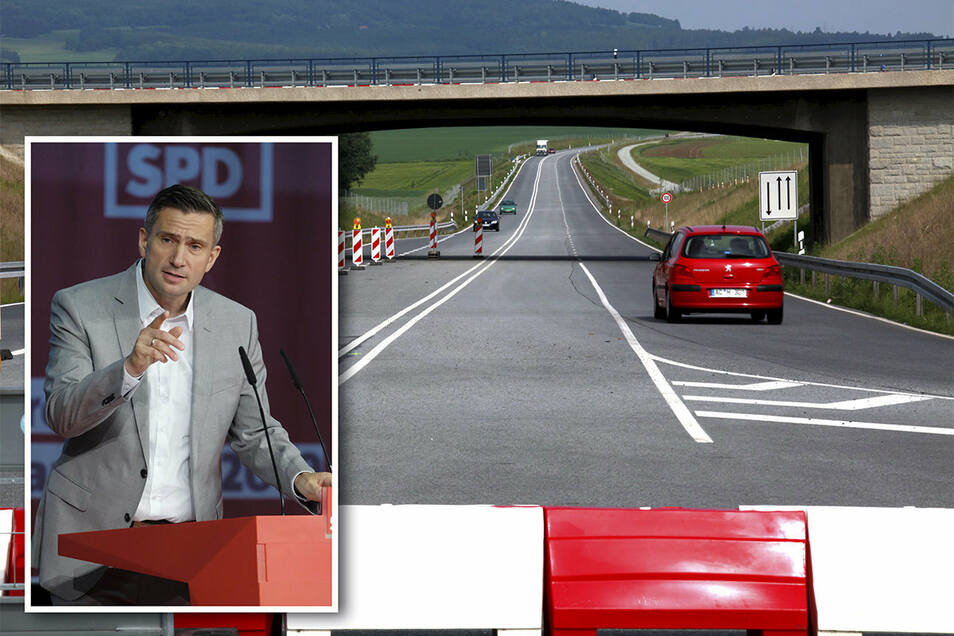 2019 ist die B178 wieder nicht weitergebaut worden. Sachsens Wirtschaftsminister Martin Dulig sagt, wie es nun weitergeht.