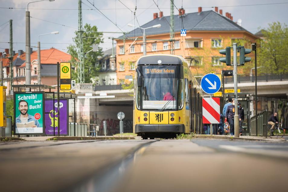 Am Sonnabend werden die Straßenbahnlinien 3 und 13 umgeleitet.