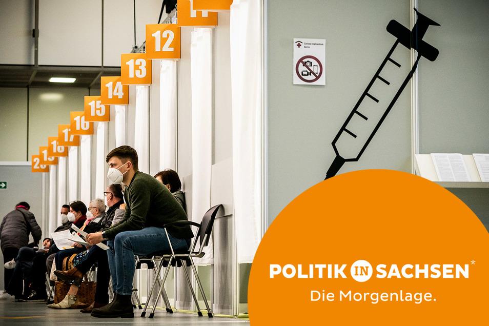 Die Impfquote in der Bundesrepublik und in Sachsen steigt täglich.