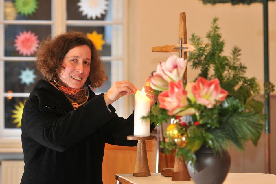 Die Neugersdorfer Pfarrerin Brigitte Lammert soll neue Superintendentin in Pirna werden.