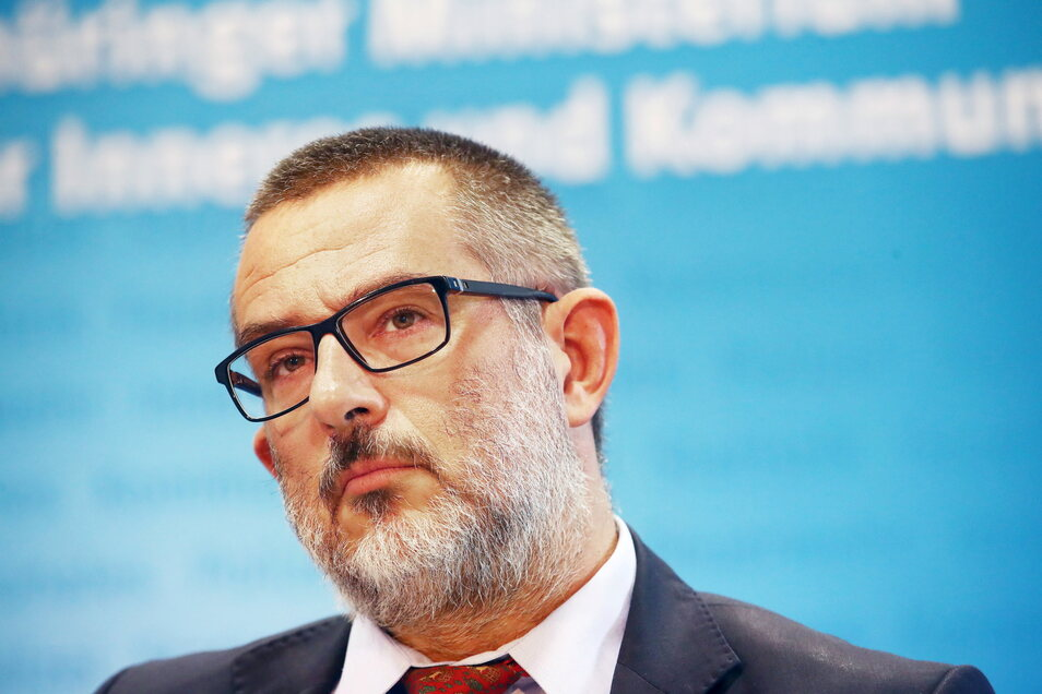 Stephan Kramer, Präsident des Thüringer Verfassungsschutzes, geht hart ins Gericht mit Hans-Georg Maaßen.