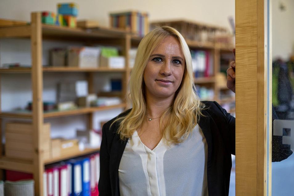 Lara Mergardt ist Projektleiterin des Pilotprojektes.