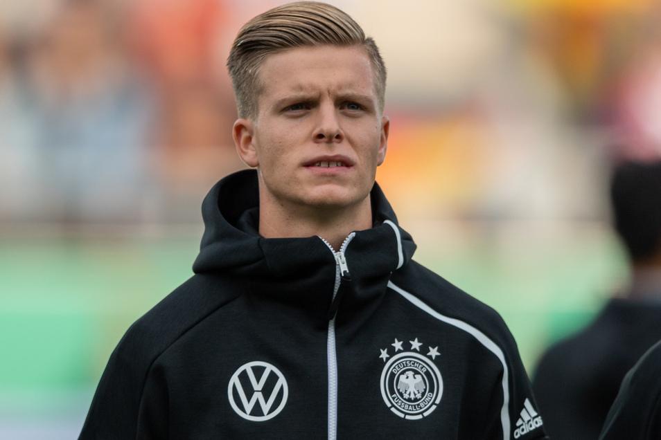 Dzenis Burnic spielt für die deutsche U21 - und bis zum Sommer für Dynamo. Was danach kommt? Er hat klare Vorstellungen.