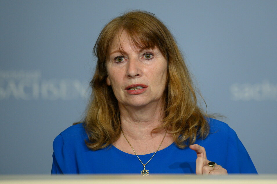 Sachsens Gesundheitsministerin Petra Köpping will die Kapazitäten in den Impfzentren in den kommenden Wochen deutlich erhöhen.