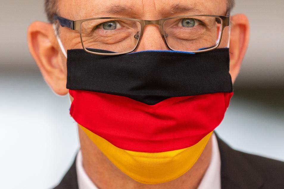"""Sachsens AfD-Chef Jörg Urbangeht auf Distanz zum Bundesvorstand: """"Die AfD sollte Parteimitglieder nur bei wirklich schwerwiegenden Verstößen ausschließen, die sich eindeutig nachweisen lassen und vor Gericht wasserfest sind."""""""