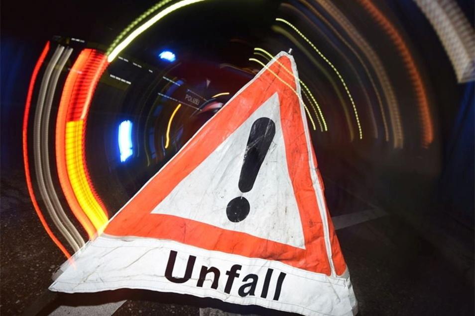 Am Freitagabend kam es zu einem Unfall auf der Autobahn 4 bei Weißenberg.