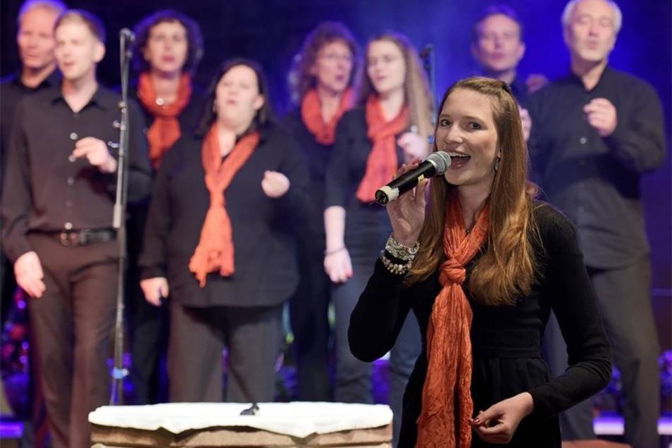 """Besonderer Gast waren in diesem Jahr die """"Gospel Passengers"""" aus Dresden."""