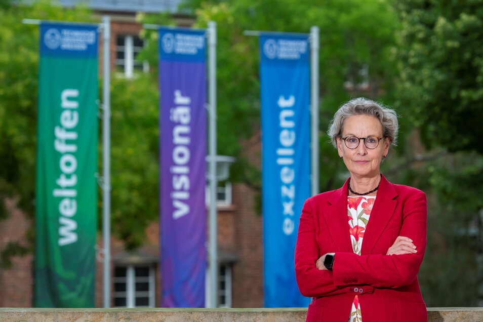 Psychologie-Professorin Ursula M. Staudinger ist seit einem Jahr Rektorin der TU Dresden.