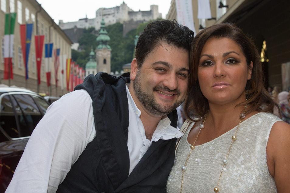 Yusif Eyvazov – mit Gattin, der Starsopranistin Anna Netrebko. Bald sind beide in Dresden zu erleben.