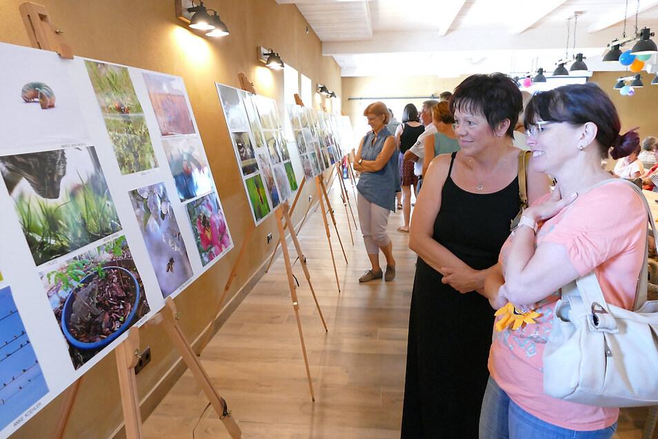 In der Erlebnisscheune Felicitas in Hornow sind die Naturfotos zu sehen.