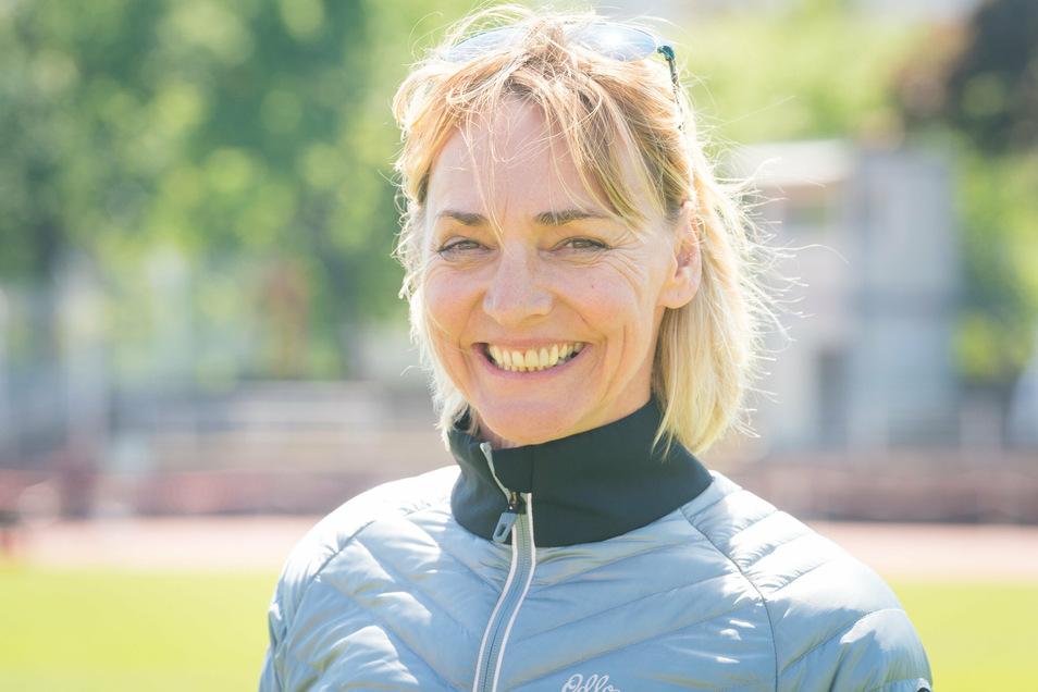Heike Drechsler gehörte bereits bei Olympia 1988 in Seoul zur DDR-Auswahl.