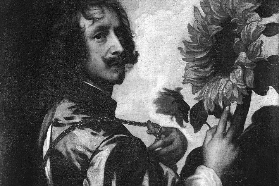 Das Selbstbildnis mit Sonnenblume nach Anthonis van Dyck war lange Zeit verschwunden.