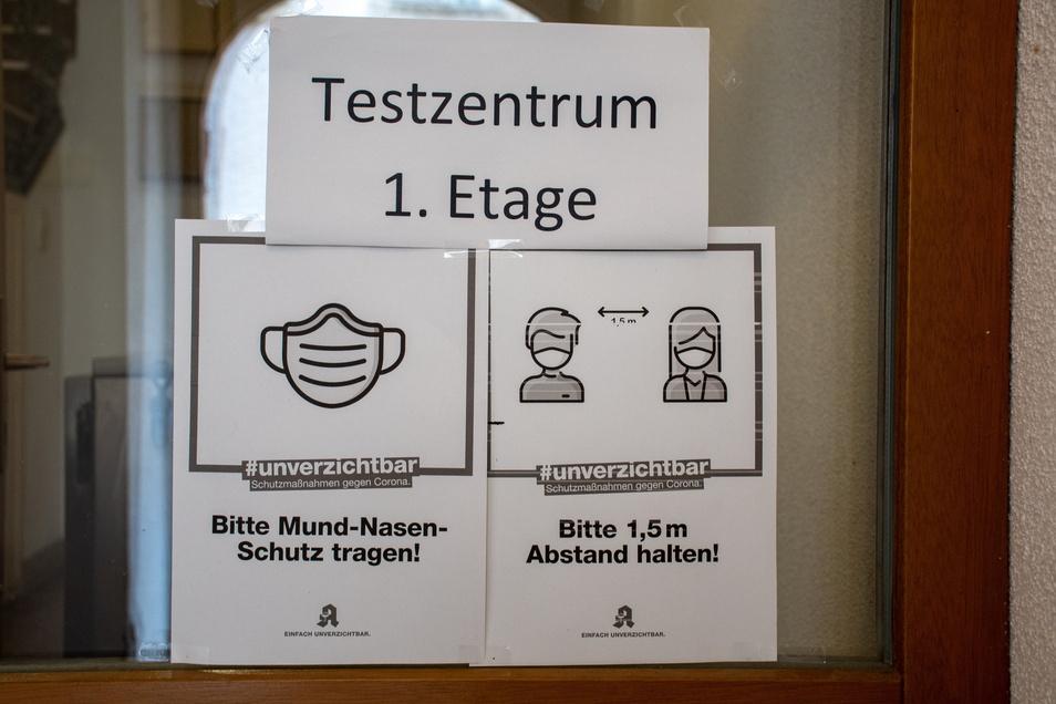 Testen, testen, testen. Das ist auch die Strategie im Landkreis Meißen, um Corona-Infektionsherde rechtzeitig zu erkennen.