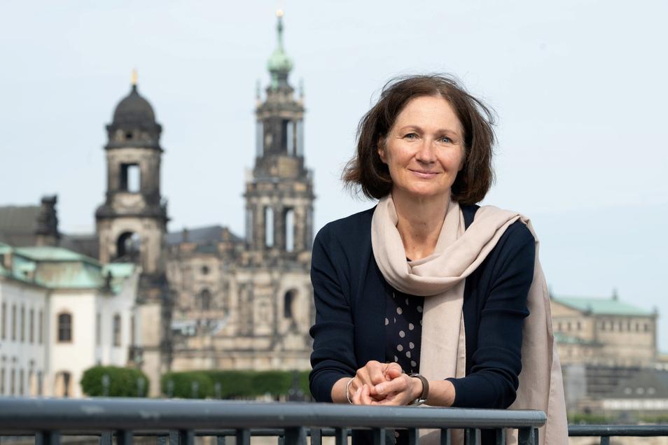 Karin Enke ist in Dresden zu Hause. Sie mag die Stadt. Ihren 60. Geburtstag aber feiert sie in Wien. :