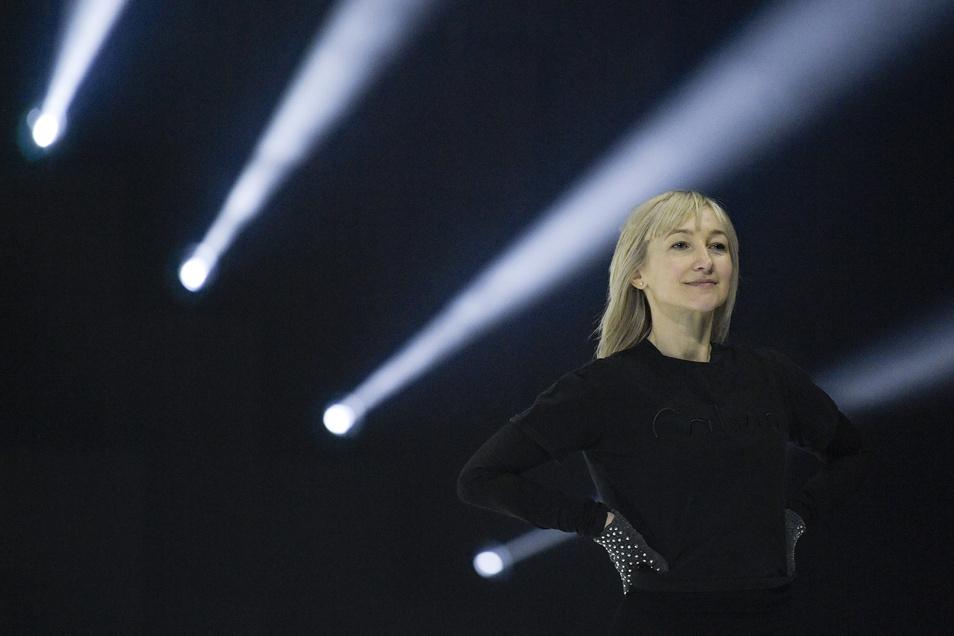 Aljona Savchenko legt ihre Comeback-Pläne vorerst auf Eis.
