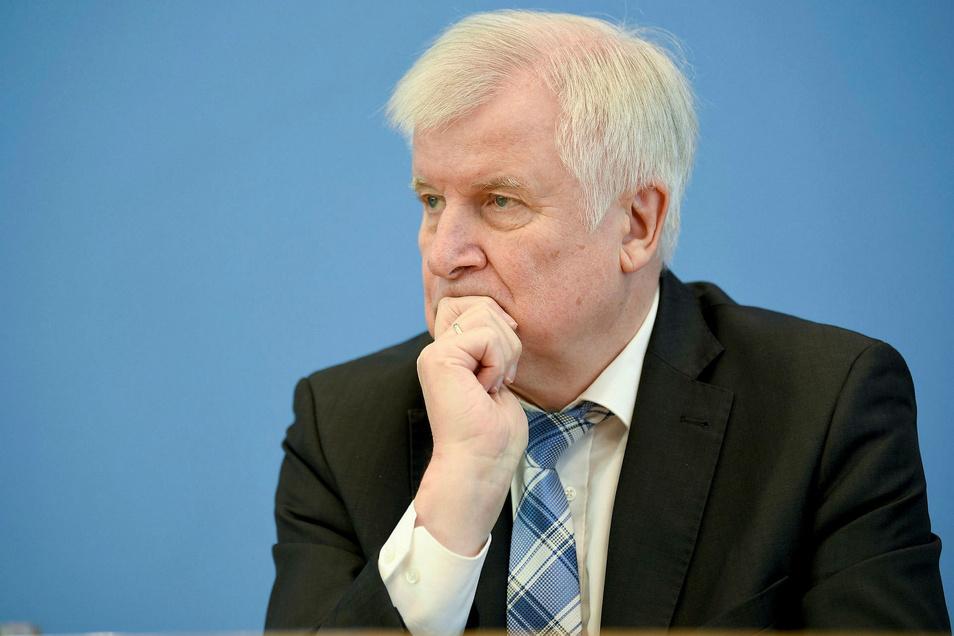 Bundesinnenminister Horst Seehofer (CSU).