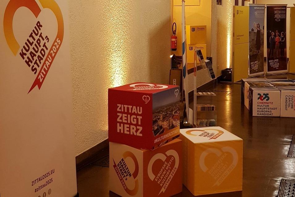 Zittau zeigt Herz in Brüssel.