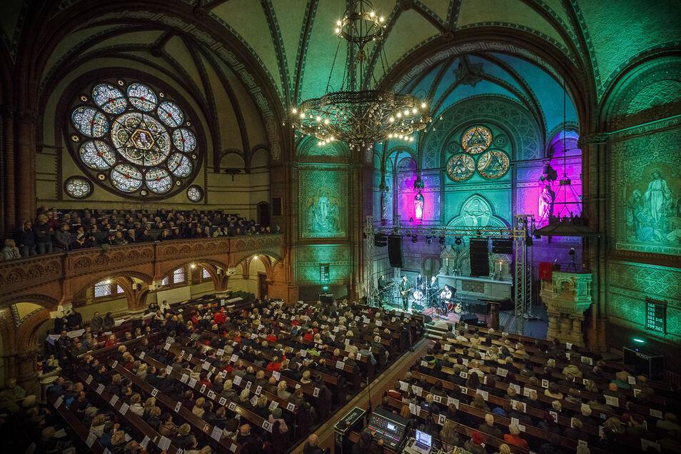 So voll wie vor vier Jahren wird die Görlitzer Lutherkirche am Reformationstag in diesem Jahr gewiss nicht sein.