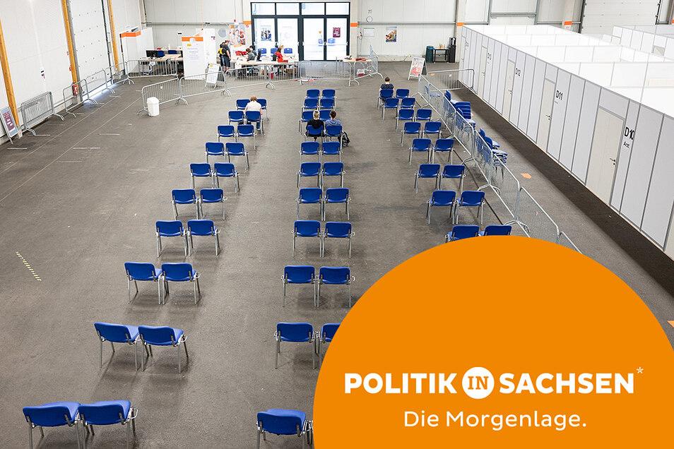 Das Löbauer Impfzentrum ist fast leer - warum ist die Impfbereitschaft in Sachsen so niedrig?