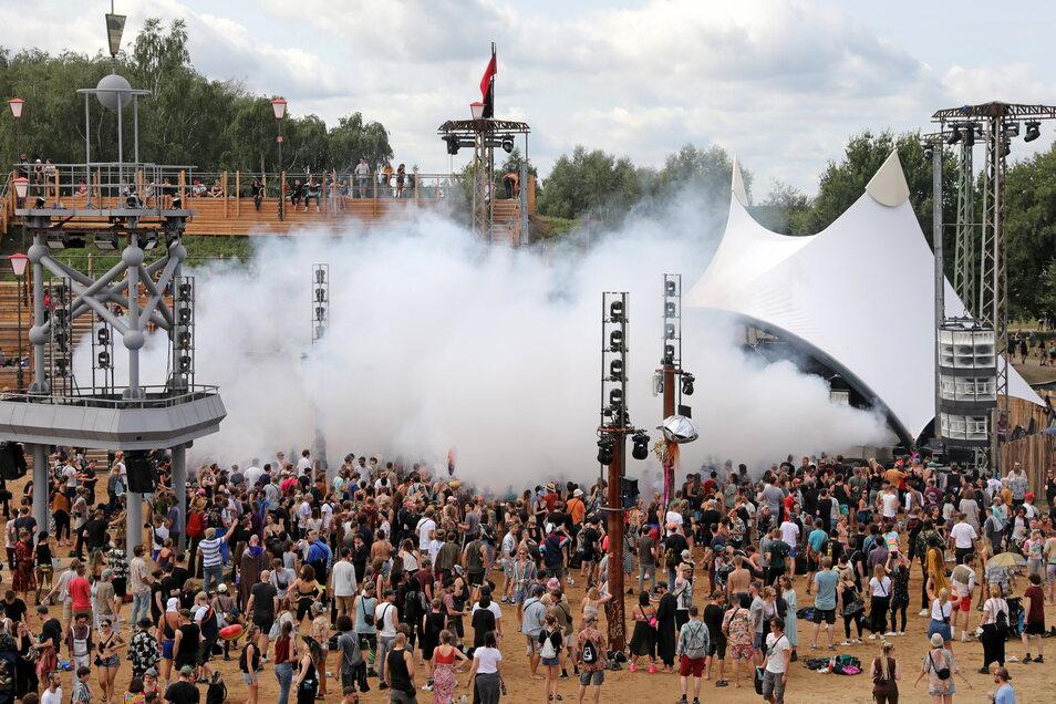 Am 21. August gab es in Lärz eines von drei Festivals.