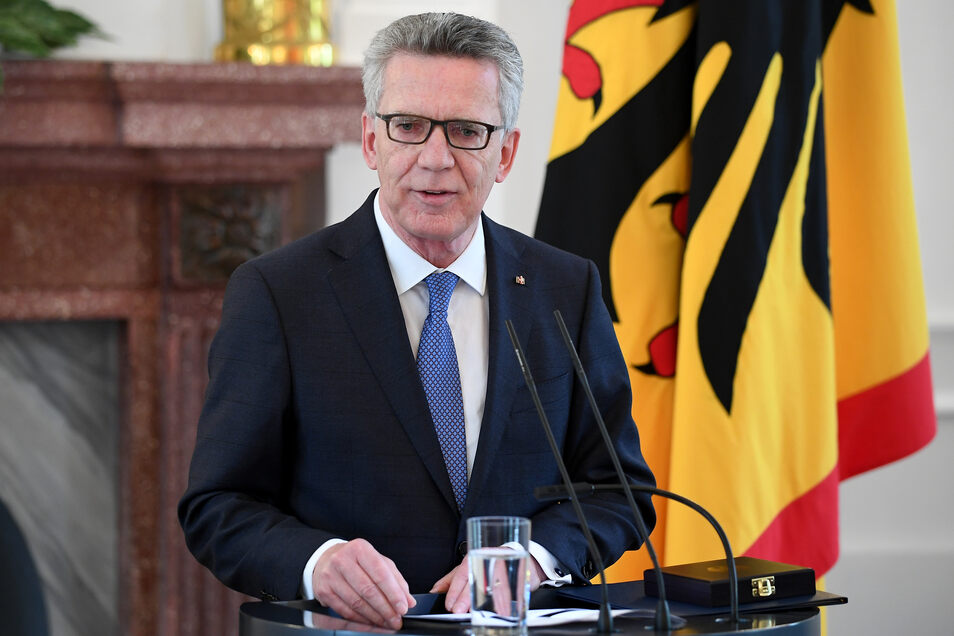 Der ehemalige Bundesinnenminister Thomas de Maizière.