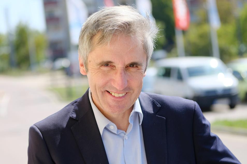 Bereitet einen außergewöhnlichen Abend über die DDR-CDU vor: der Meißner SPD-Landtagsabgeordnete Frank Richter. Es geht um den ersten Außenminister der DDR Georg Dertinger.