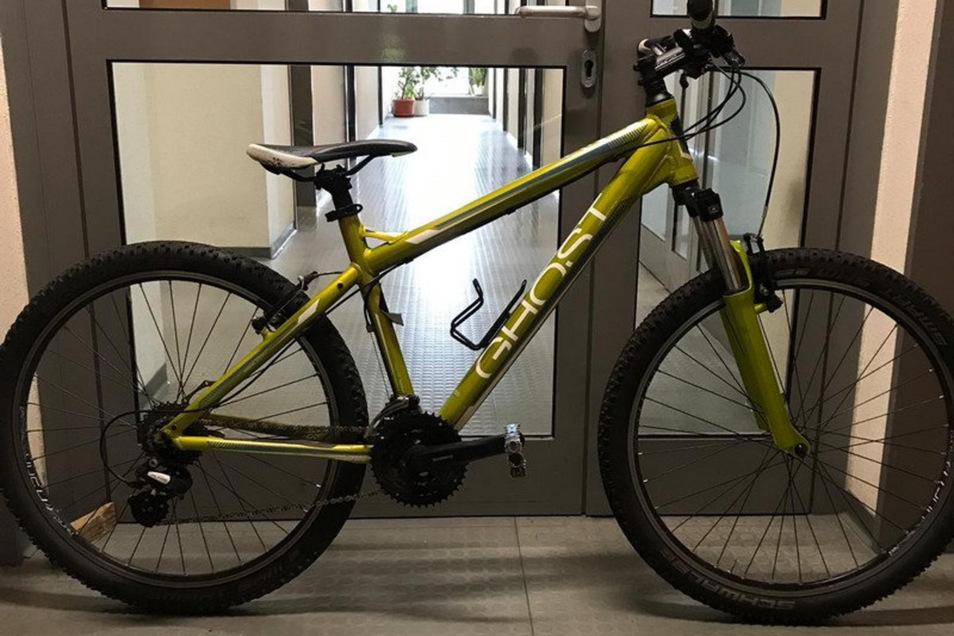 So sieht das gestohlene Fahrrad aus.