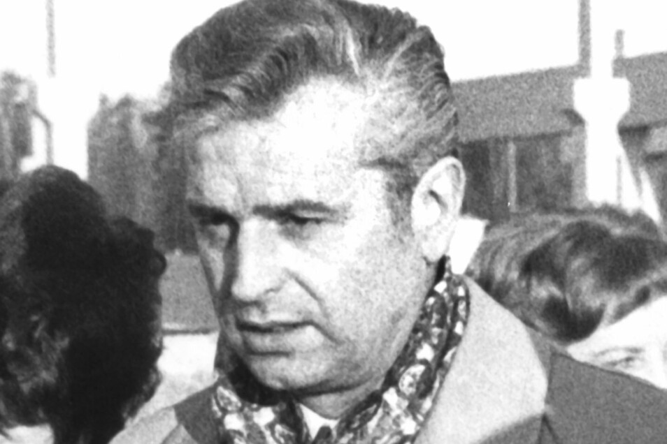 Günter Heinze, damaliger Vizepräsident des Deutschen Turn- und Sportbundes (DTSB) der DDR