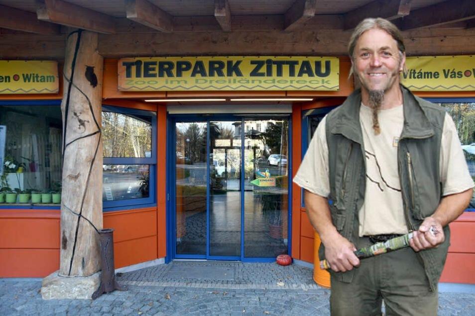 Am Sonntag öffnet der Zittauer Tierpark nicht nur, sondern Direktor Andreas Stegemann und seine Mitarbeiter laden ab Nachmittag auch zum Familienfest.