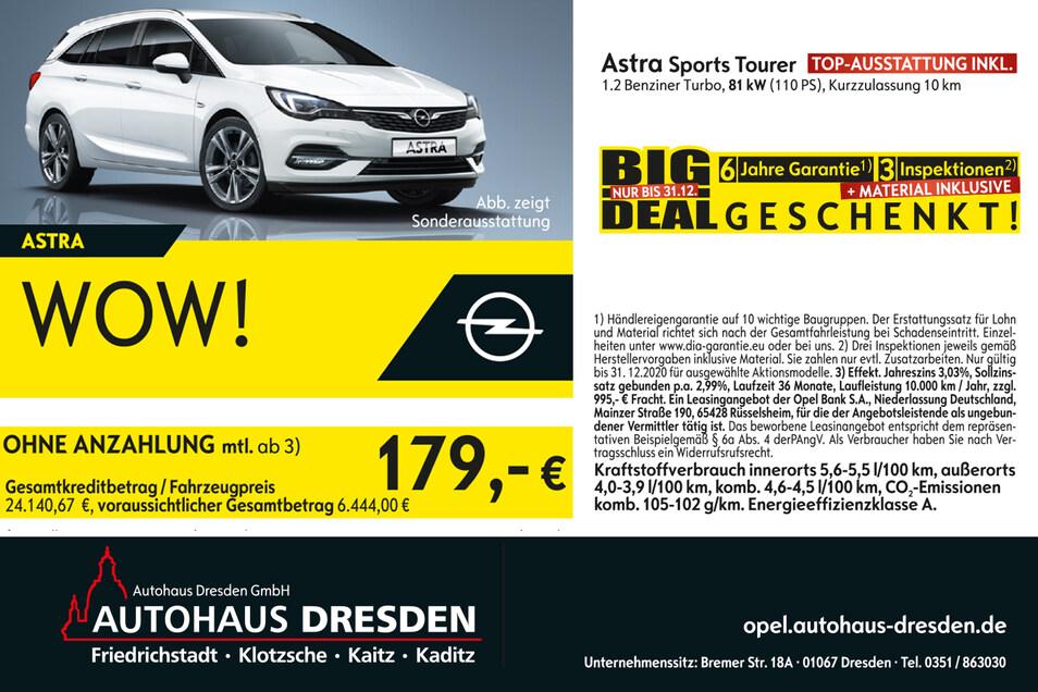 Das Autohaus Dresden unterstützt uns bei diesem Adventsgewinnspiel.