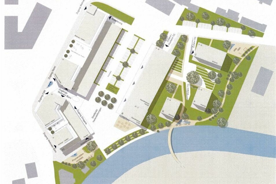 Das Konzept der Lewerenz-RTLL-Gruppe ist der Favorit der Rathausspitze. Schließt sich der Stadtrat dem Vorschlag an?