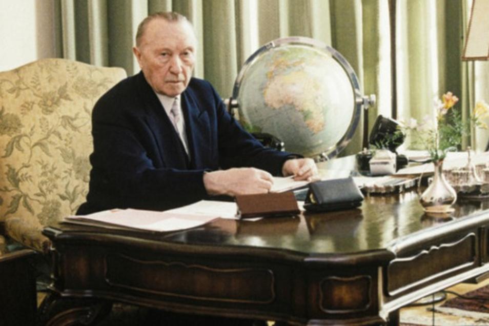 Der Hartnäckige: Konrad Adenauer blieb so lange im Amt, bis ihn nicht mal die engsten Parteifreunde mehr haben wollten.