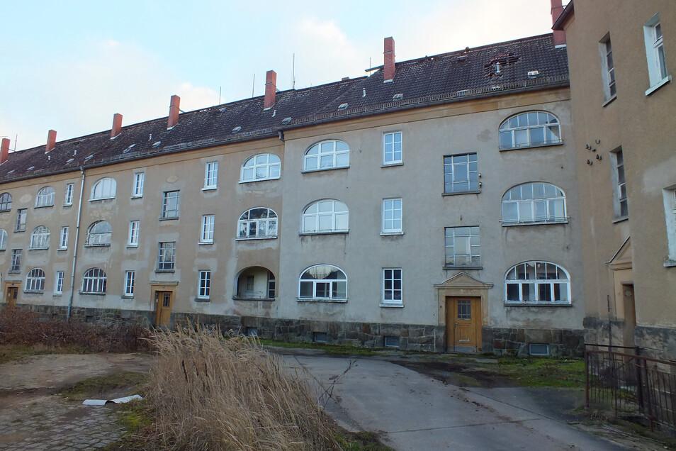 So sieht es heute im früheren Hinterhof der Wohnhäuser aus.