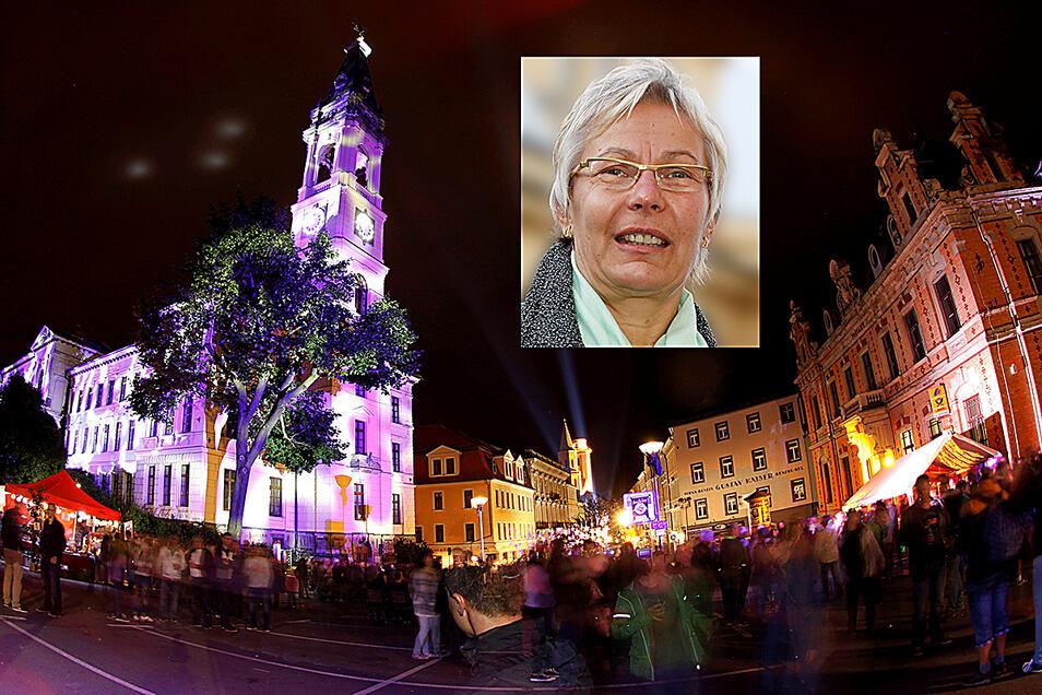 Die ehemalige Stadtentwicklungschefin Birgit Kaiser ist jetzt im Ruhestand. Die Chefin des Vereins Tradition und Zukunft Zittau kündigt den nächsten Ring on Feier an.