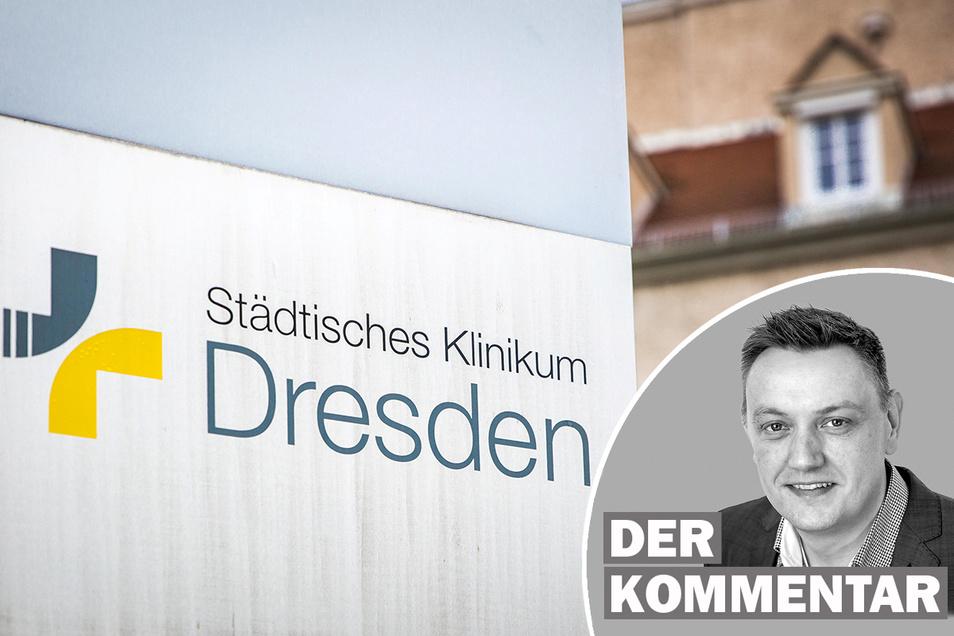 Das Krankenhaus Neustadt ist der Zankapfel im Streit um das Konzept fürs Klinikum Dresden. SZ-Redakteur Andreas Weller kommentiert.